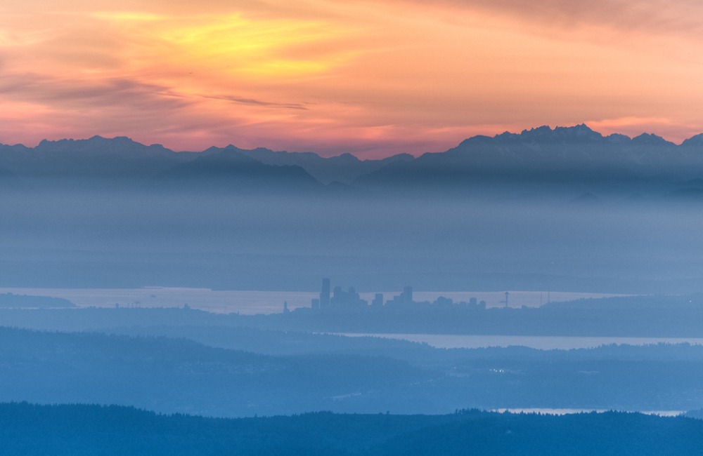 Hazy Lazy Days of Summer – Images from Mt. Si