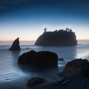 Blue Hour at Ruby Beach