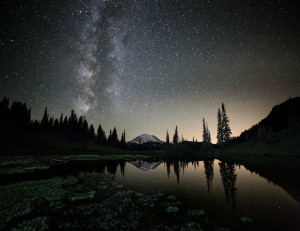 Milky Way Above Tipsoo